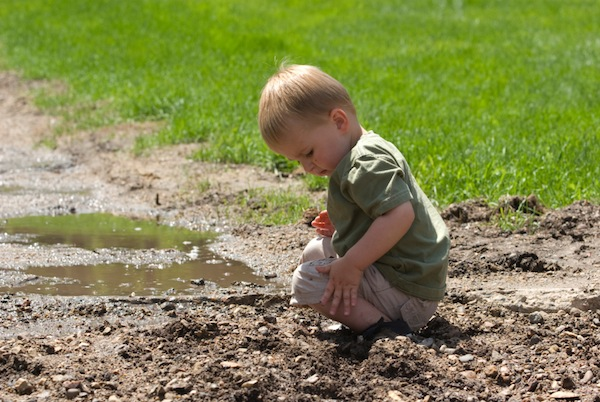 "Connection to our true nature means ""getting dirty""."